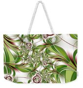 Abstract Green Plant Weekender Tote Bag