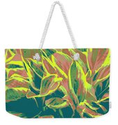 Abstract - Hostatakeover Weekender Tote Bag