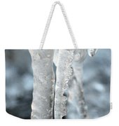 Abstract Icicles I Weekender Tote Bag