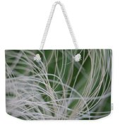 Abstract Image Of Tropical Green Palm Leaves  Weekender Tote Bag