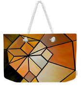 Abstract Impossible Warm Figure Weekender Tote Bag