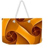 Abstract In Amber Weekender Tote Bag