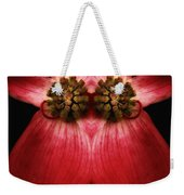 Nature In Abstract Dogwood Blossom 2 Weekender Tote Bag