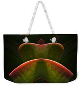 Nature In Abstract Succulent Plant 1 Weekender Tote Bag