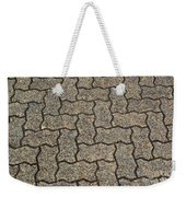 Abstract Interlocking Pavement Weekender Tote Bag