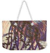 Abstract Jellyfish In Ink Weekender Tote Bag