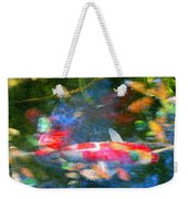 Abstract Koi 1 Weekender Tote Bag
