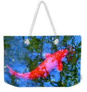 Abstract Koi 4 Weekender Tote Bag