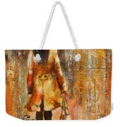 Abstract Lady  5 Weekender Tote Bag