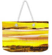 Abstract Landscape Found Reflections Weekender Tote Bag