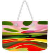 Abstract Landscape Of Happiness Weekender Tote Bag