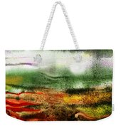 Abstract Landscape Sunrise Sunset Weekender Tote Bag
