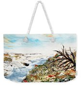 Abstract Landscape Untitled Weekender Tote Bag