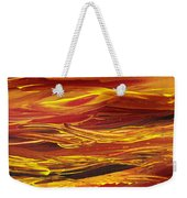 Abstract Landscape Yellow Hills Weekender Tote Bag