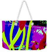 Abstract Lavender  Weekender Tote Bag