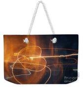 Abstract Light Streaks Weekender Tote Bag
