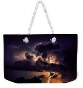 Abstract Lightning 14 Weekender Tote Bag