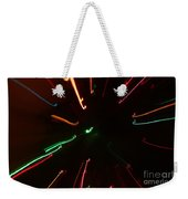 Abstract Lights Weekender Tote Bag