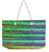 Abstract Lines 5 Weekender Tote Bag