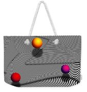 Abstract - Lines - That's A Moire Weekender Tote Bag