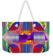 Abstract Mandala Weekender Tote Bag