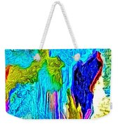 Abstract Melting Planet Weekender Tote Bag