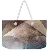 Abstract Metal Weekender Tote Bag