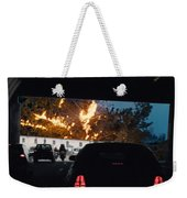 Abstract Mixmedia Patchwork Pleasure Drive End Of The Tunnel Bridge Paris France Weekender Tote Bag