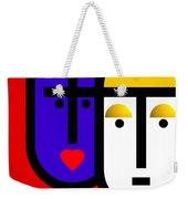 Abstract Modern Weekender Tote Bag