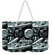 Abstract Motor Bike - Doc Braham - All Rights Reserved Weekender Tote Bag