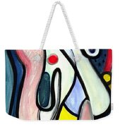 Abstract Mystery Weekender Tote Bag