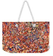 Abstract - Nail Polish - Clown Suicide Weekender Tote Bag