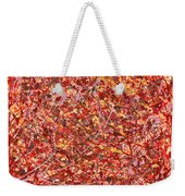 Abstract - Nail Polish - Cosmetically Speaking Weekender Tote Bag by Mike Savad
