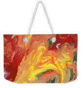 Abstract - Nail Polish - In A State Of Flux Weekender Tote Bag by Mike Savad