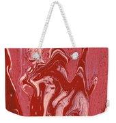 Abstract - Nail Polish - Tongue Weekender Tote Bag by Mike Savad