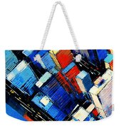 Abstract New York Sky View Weekender Tote Bag