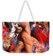 Abstract Nude Liberating From Self- Egoistic Consciousness Weekender Tote Bag