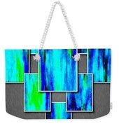 Abstract Ocean Tiles Weekender Tote Bag