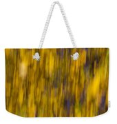 Abstract Of Autumn Gold Weekender Tote Bag