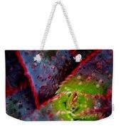 Abstract Of Bromeliad Weekender Tote Bag