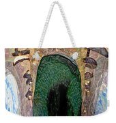 Abstract Of Penguins On Ice Weekender Tote Bag