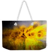 Abstract Of Sunflowers Weekender Tote Bag