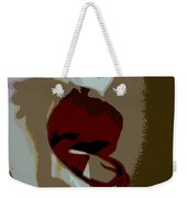 Abstract Orchid Weekender Tote Bag