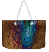 Abstract Path Weekender Tote Bag