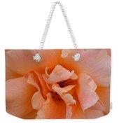 Abstract Peach Rose Weekender Tote Bag