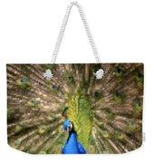 Abstract Peacock Digital Artwork Weekender Tote Bag