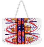 Abstract Pen Drawing Fifty Weekender Tote Bag