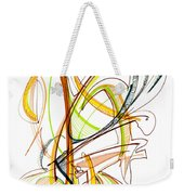 Abstract Pen Drawing Fifty-nine Weekender Tote Bag