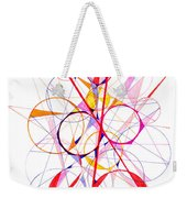 Abstract Pen Drawing Fifty-one Weekender Tote Bag