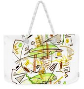 Abstract Pen Drawing Fifty-seven Weekender Tote Bag